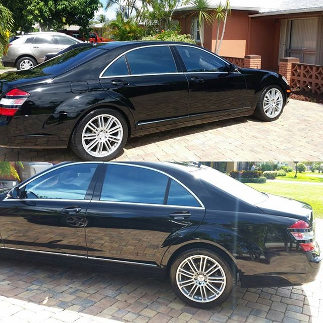 Wash & wax  on this  Mercedes Benz
