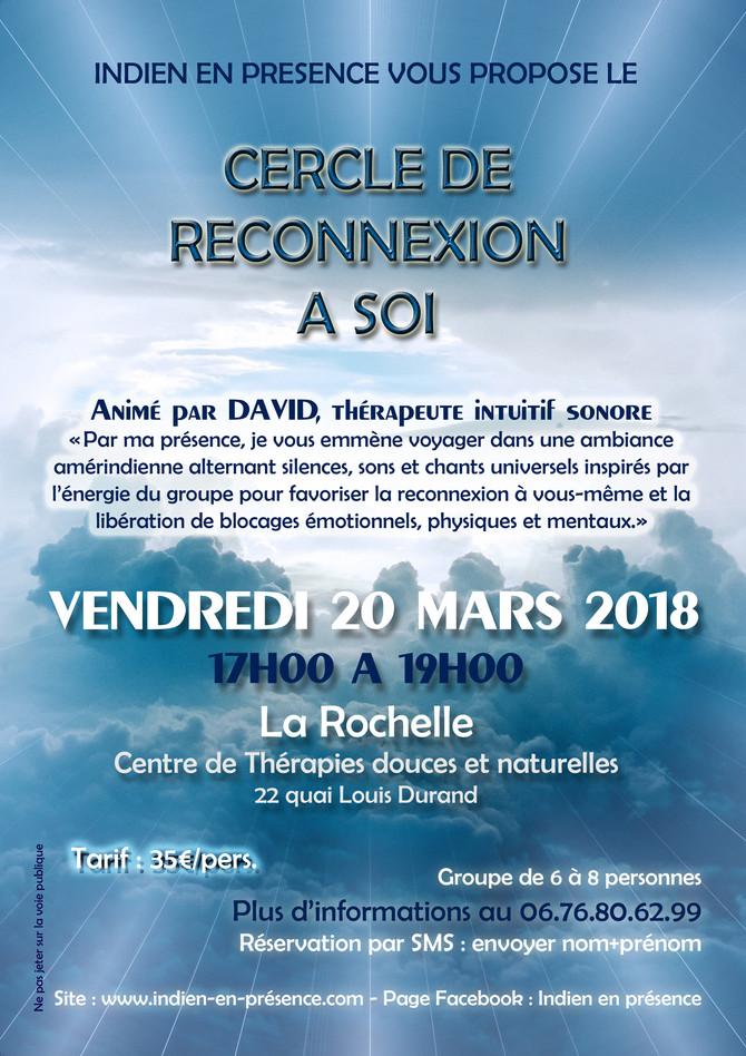 PROCHAIN CERCLE DE RECONNEXION A SOI