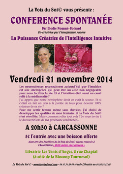 CONFERENCE Puissance Creatrice Intellige