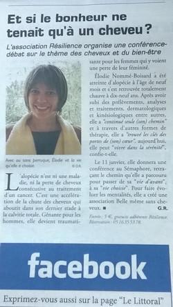 Article Le Littoral 6 janv 2017