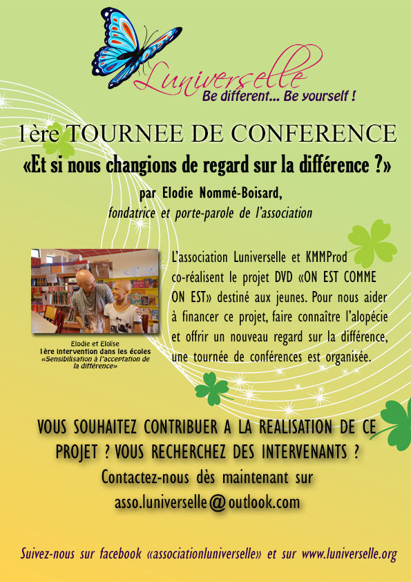TOURNEE CONFENRENCES 2019