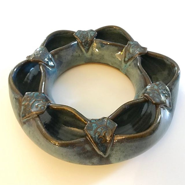 Floral ring; fill me with fresh evergree