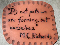 Inspiration from M.C. Richards
