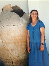 Karen with Cypriot Amphora