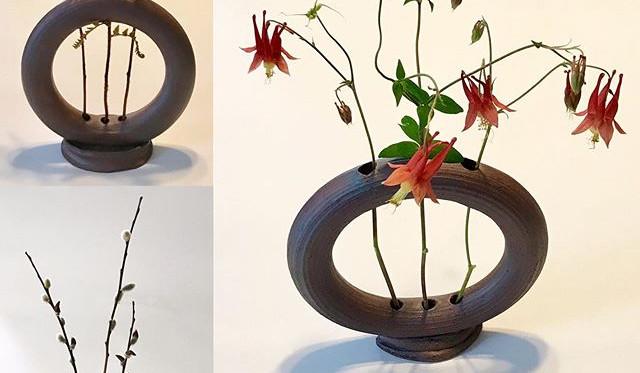 Ring Vases, Ikebana