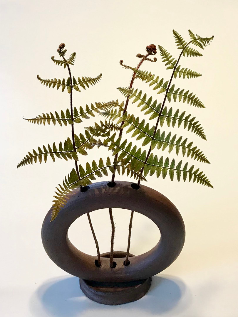 Ring Vase, Ikebana Vase