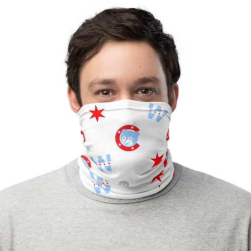 Chicago North Side Face Mask - Face Cover - Scarf - Neck Gaiter - Headband