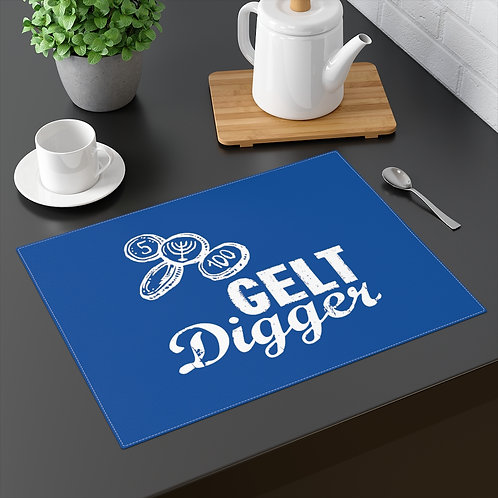 Hanukkah Placemat - Gelt Digger