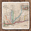 Thumbnail: Chicago CTA Coaster Set - Vintage Map, Color Lines, Platform Stairs, Throw