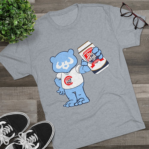 Chicago Old Style Cubby Bear Tri-Blend Crew Tee