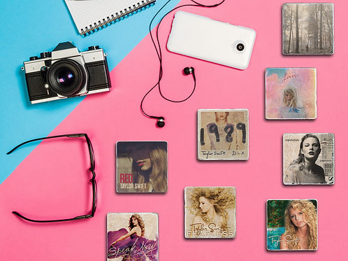 Taylor Swift Album Cover Coasters