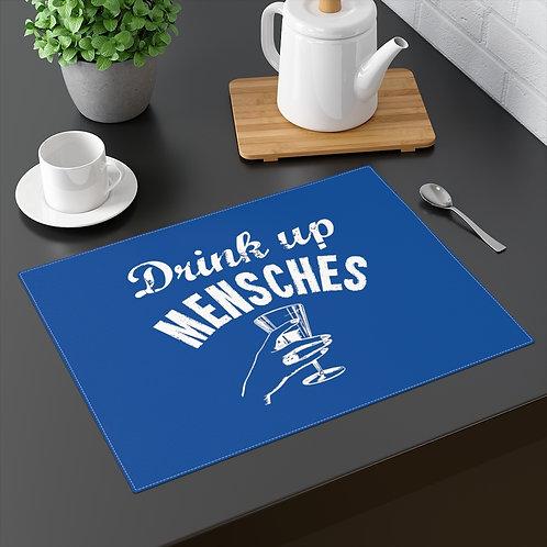 Hanukkah Placemat - Drink Up Mensches