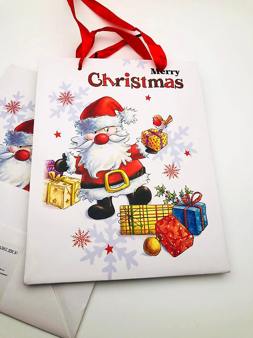 "Пакет «Merry Christmas"" подарочный"