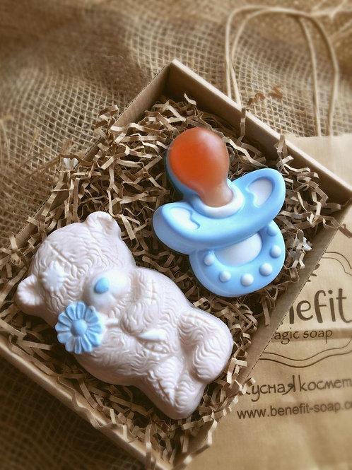 «Я родился!» набор с мишкой