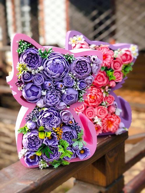 «Цветочный котик» в коробоксе