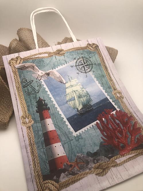 Сумка-пакет «Море»