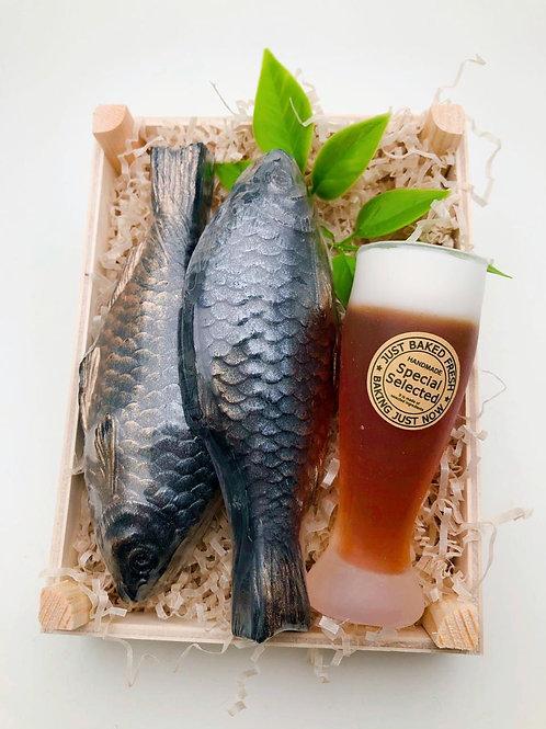 «Рыбка к пенному!» подарочный набор