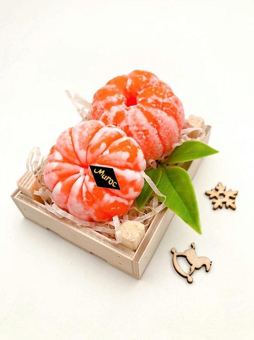 «Пара мандаринов» подарочный набор в ящичке
