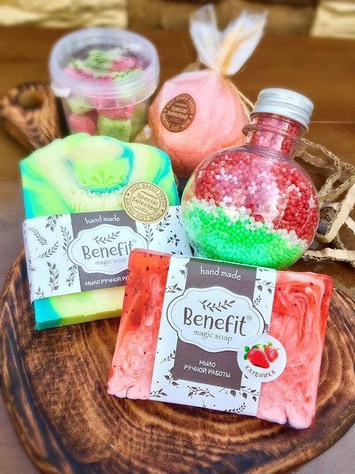 «Сочные фрукты» набор для ванн