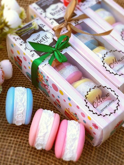 «Макаруни» набор мыла