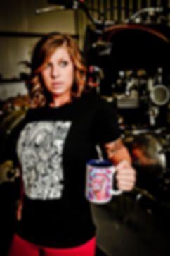 Mark Niemi Fine Art - moto art mug and tee