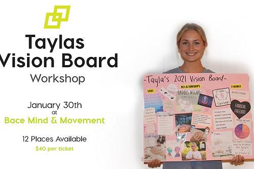 Taylas Vision Board Workshop