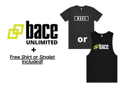 Bace Unlimited for 21 days in Jan!