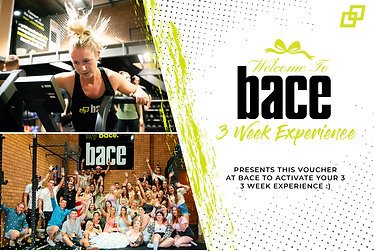 Bace 3 Week Experience - Gift Voucher