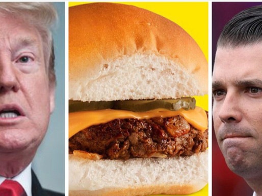 Donald Trump Jr caught eating Impossible sliders at White Castle—Mueller probe reveals