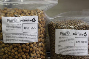 San Diego Humane Society offer free pet food during