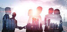double-exposure-image-many-business-peop
