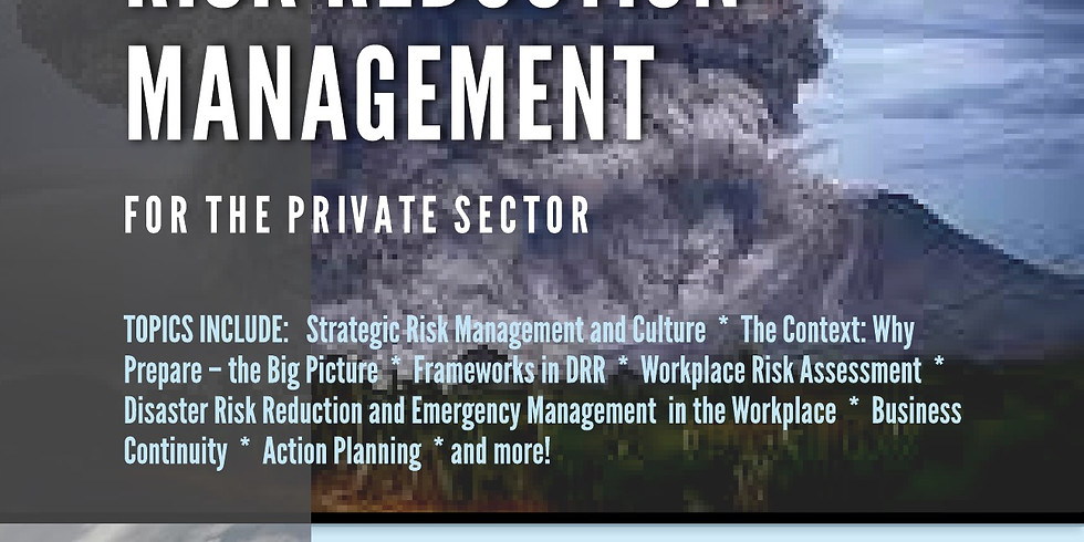 Disaster Risk Reduction Management (For Private Sector)