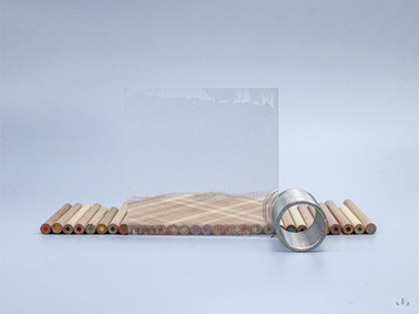 透明素材の表面加工