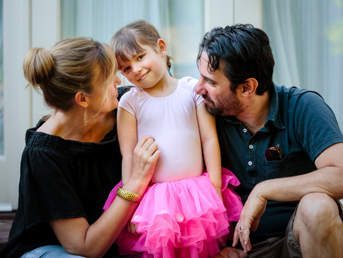 4 Ways to a Simple & Stress-Free Family Portrait Session