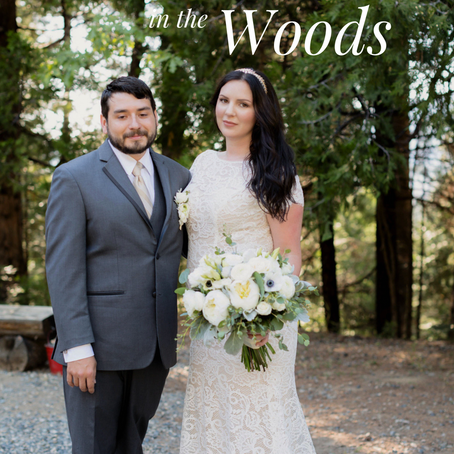 A Rustic Wedding in the Woods
