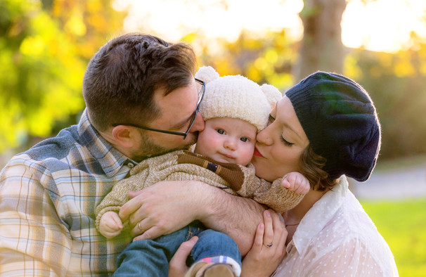 family photo session in Valley Village with LoLo Spencer Photography
