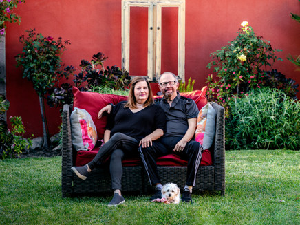 Front Porch Portraits in Van Nuys  | Los Angeles Photographer