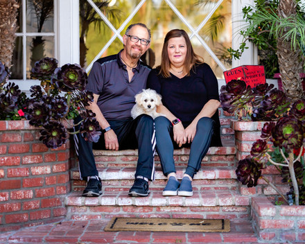 Front Porch Portraits in Van Nuys    Los Angeles Photographer