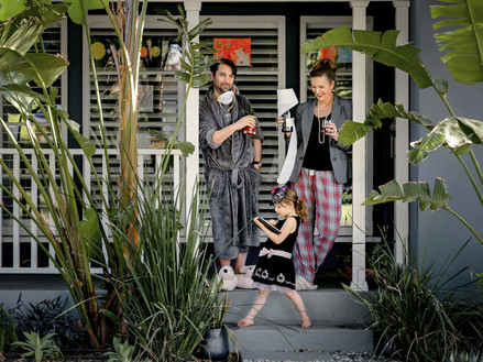 Front Porch Portraits in Valley Village    Los Angeles Photographer