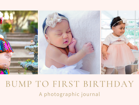 Bump To First Birthday