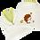 Велюровый плед-конверт
