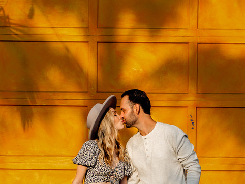 San Barbara Funk Zone and Butterfly Beach Engagement Session | L.A. & Ventura Photographer