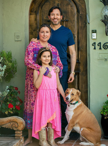 Front Porch Portraits in Valley Village  | Los Angeles Photographer