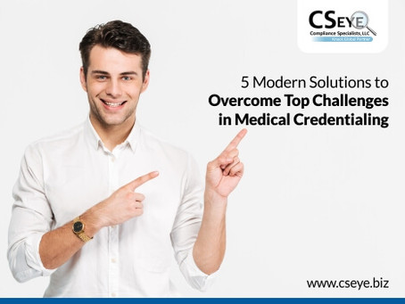 5 Modern Solutions to Overcome Top Challenges in Medical Credentialing