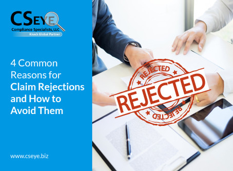 4 Common Reasons for Claim Rejections and How to Avoid Them