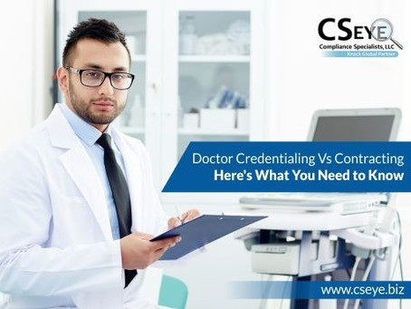 Doctor Credentialing Vs Contracting - Here's What You Need to Know