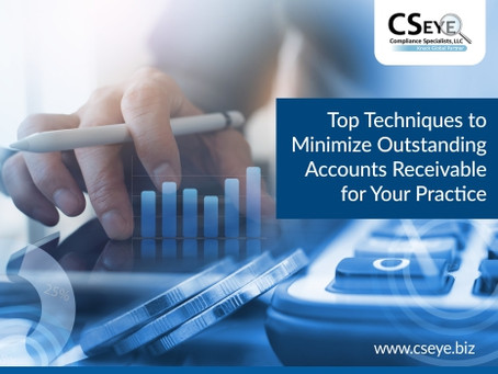 Top Techniques to Minimize Outstanding Accounts Receivable for Your Practice