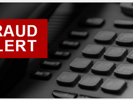 Fraud Alert: HHS OIG Hotline Telephone Number Used in Scam