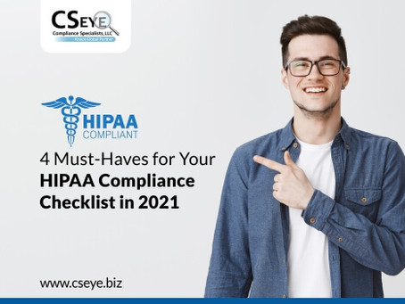 4 Must-Haves for Your HIPAA Compliance Checklist in 2021