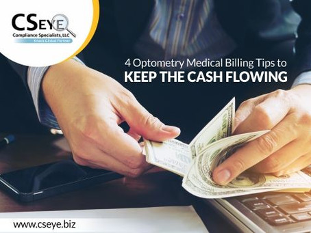 4 Optometry Medical Billing Tips to Keep the Revenue Stream Flowing
